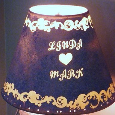 Custom Made Handmade Personalized Lamp Shade .Unique
