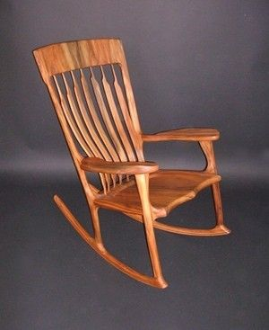 buy online b81e3 1c971 Hand Crafted Sinker Cypress Rocker by Hollis Woodworks ...