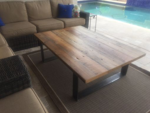 Custom Made Outdoor Reclaimed Patio Table
