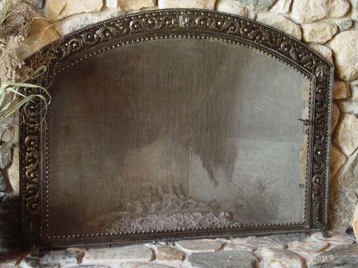 Custom Made Living Room Fire Screen