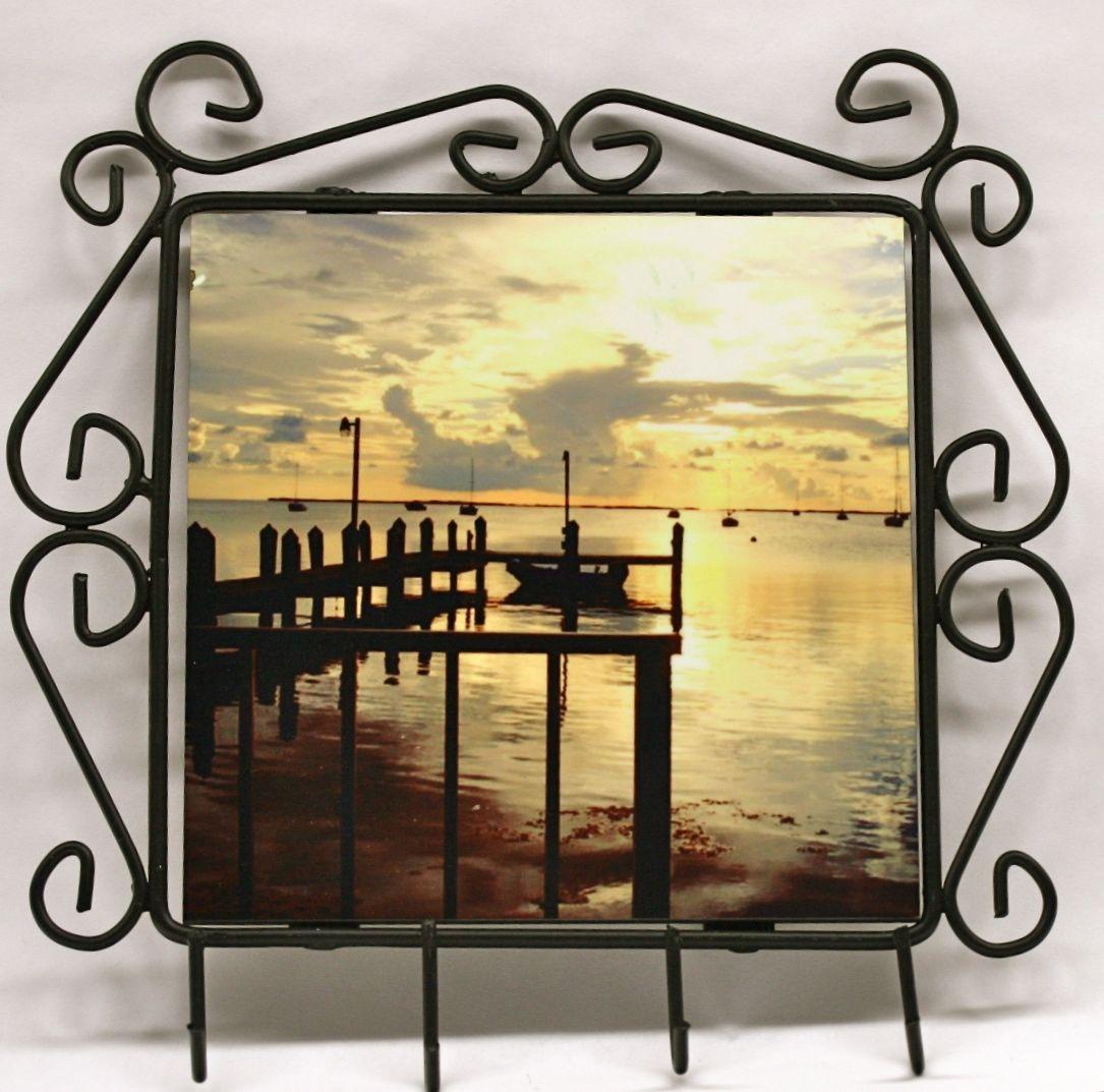 Handmade Wrought Iron Frames by Make The Leap Inc. | CustomMade.com