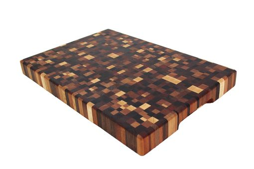 Custom Made Global End Grain Cutting Board | 1000+ Individual Pieces