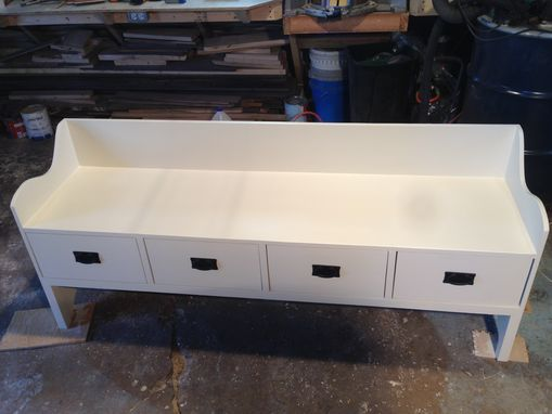 Custom Made Entryway Bench
