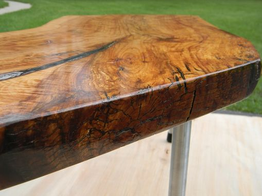 Custom Made Crab Apple Coffee Table For Small Spaces