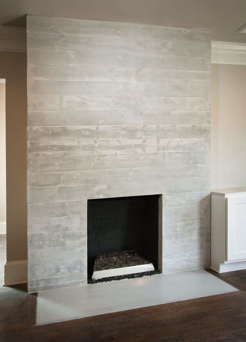 Handmade Concrete Fireplace Surround Amp Mantle By Turning