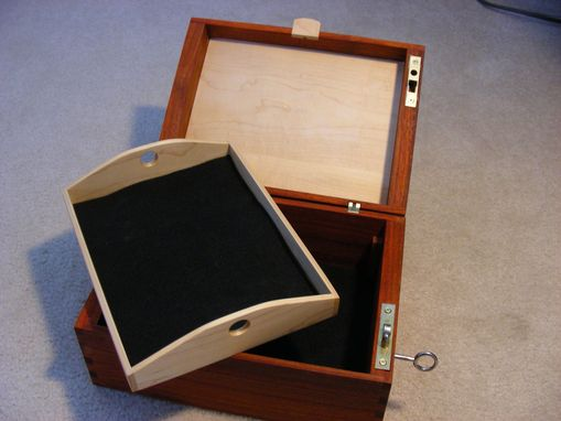 Custom Made Custom Hand Gun Lock Box