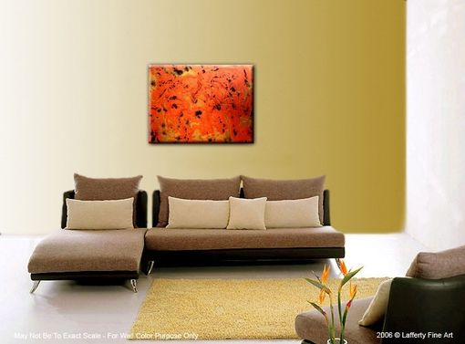 Custom Made Original Abstract Copper Metallic Copper Painting, Abstract Gold Marbled Knife Modern Textured Art