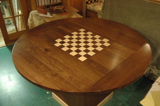 Custom Made Walnut Game / Eating Table
