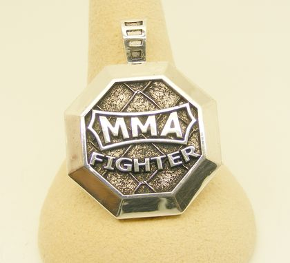 Custom Made Mixed Martial Arts, Mma Pendant