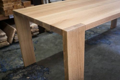 Custom Made White Oak Table