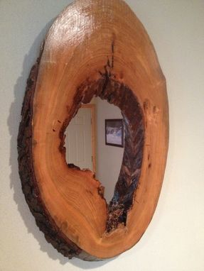 Custom Made Live Edge Mirrors