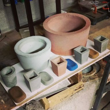 Custom Made Concrete Planters