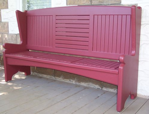 Custom Made Front Porch Bench