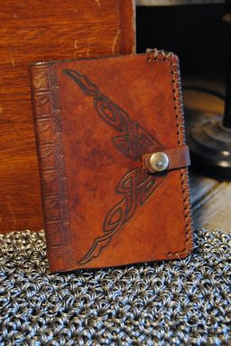 Custom Made Leather Passport Cover