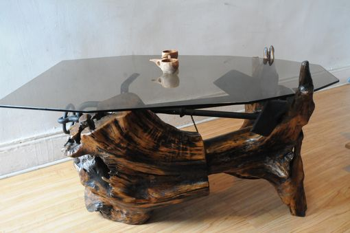 Custom Made Custom Made Wood  Coffee Table