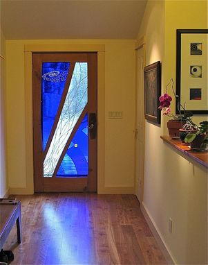 Custom Made Front Door - Halley's Comet