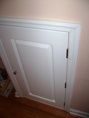 Custom Made Dormer Crawl Space Door By Jm Wood