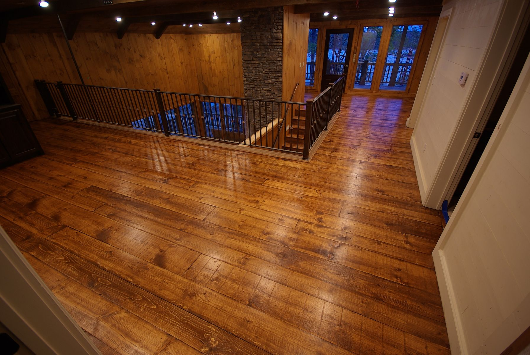 Handmade Rustic Pine Flooring By Big Dave S Woodworks Llc