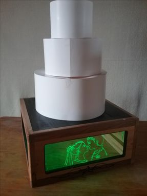 Custom Made Wedding Cake Stand Led Lights