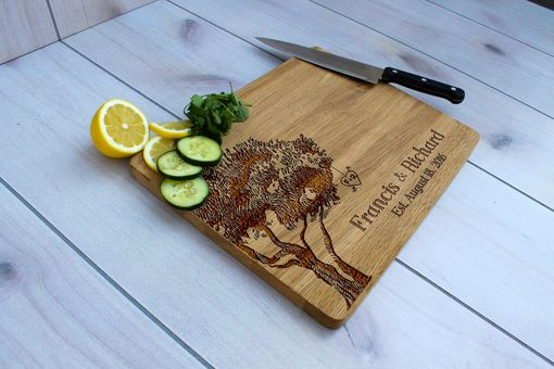 Custom Made Personalized Cutting Board, Engraved Cutting Board, Custom Wedding Gift – Cb-Wo-Francis & Richard