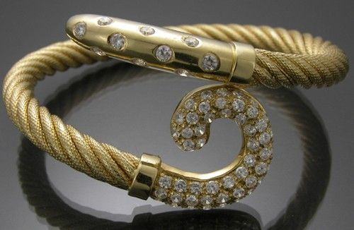 Custom Made Gold Bracelet