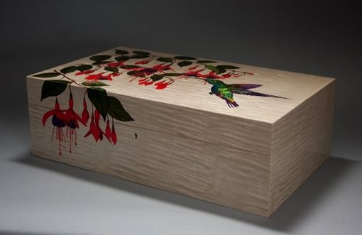 Custom Made Humming Bird Box