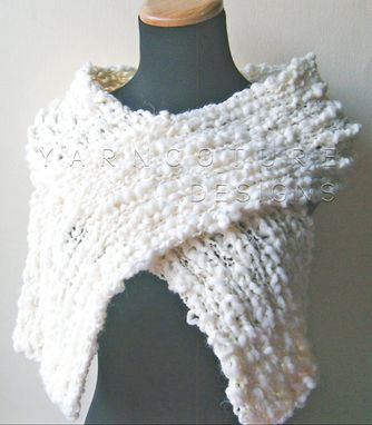 Custom Made The Thick N Chunky Scarf / Cozy