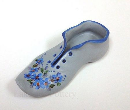 Custom Made Restoration Of A Broken Miniature Ceramic Shoe