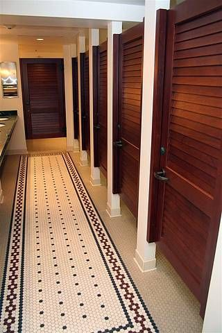 Hand Crafted Commercial Bathroom Stall Doors By Lacey Door - Wooden bathroom stall doors