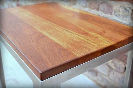 Custom Made Texas Tree-Top Side Table