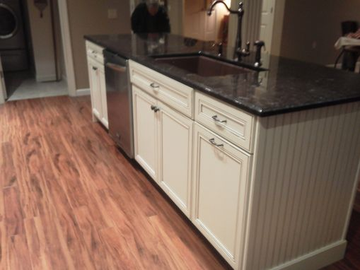 Custom Made Painted And Glazed Kitchen