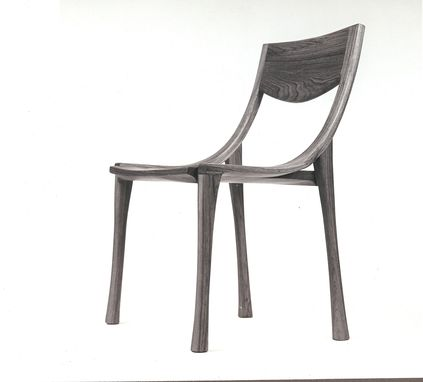 Custom Made Teak Side Chair