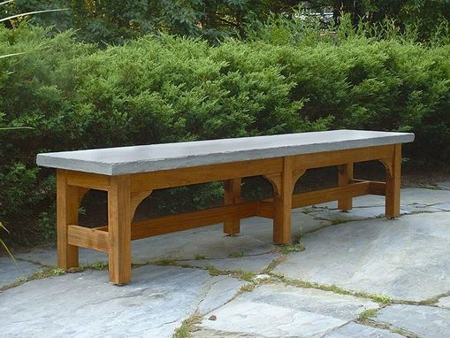 Custom Made Stone Bench
