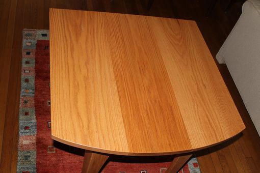 Custom Made Red Oak Kitchen Table