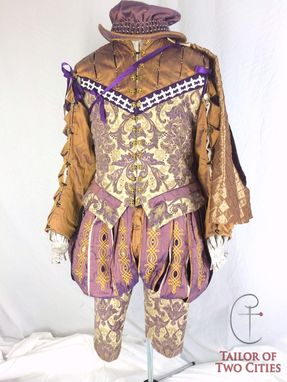 Custom Made French Nobleman's Court Outfit - Elizabethan Era
