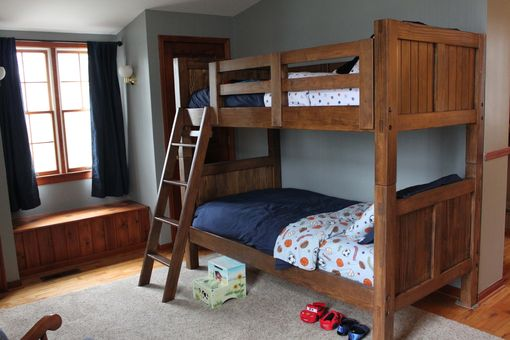 Custom Made Twin Bunk Beds