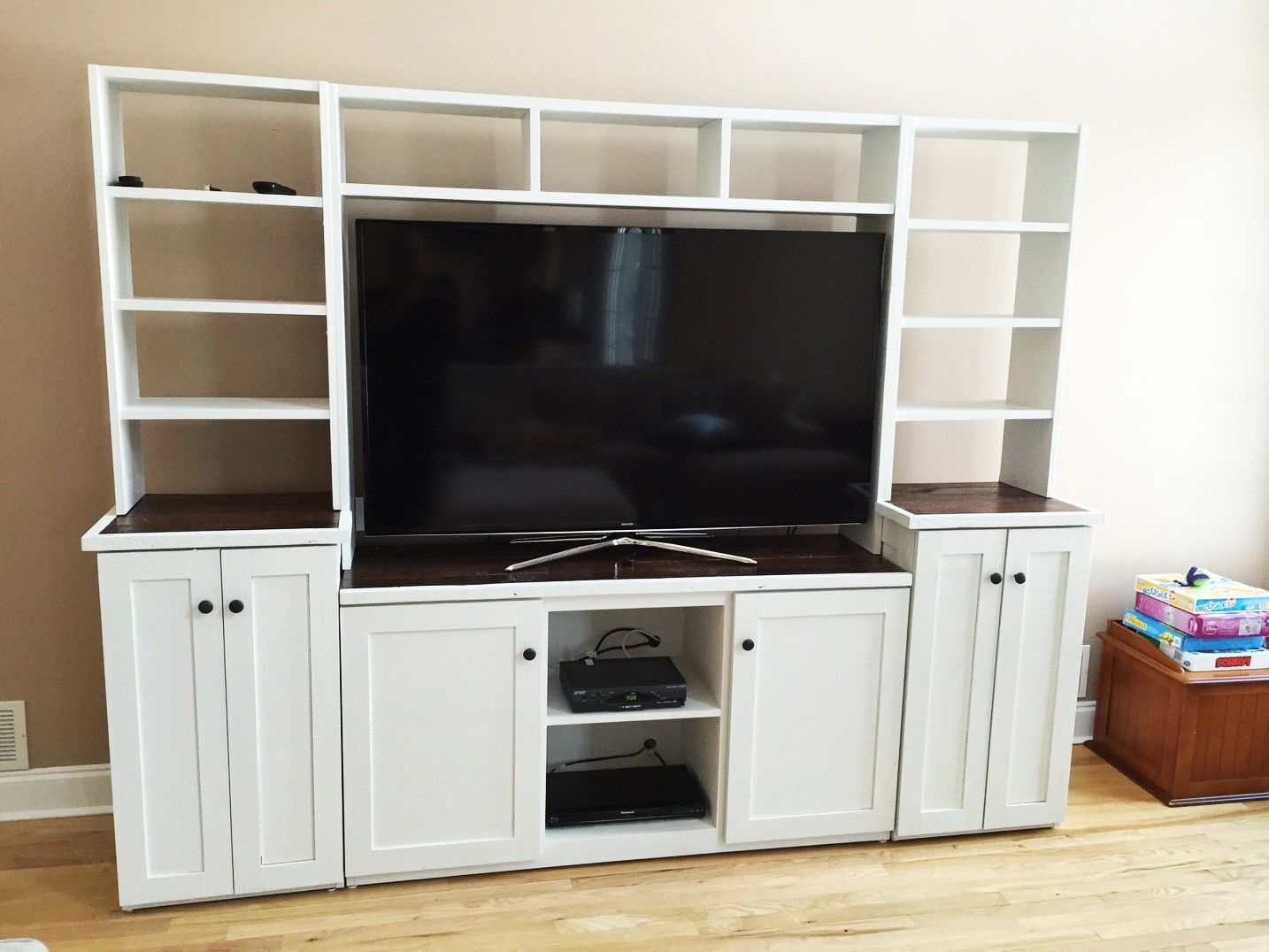 Buy a custom barn wood tv stand media console entertainment center media cabinet media Wooden entertainment center furniture