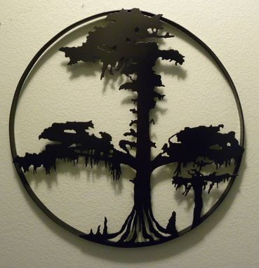 Custom Made Cypress Tree Of Life