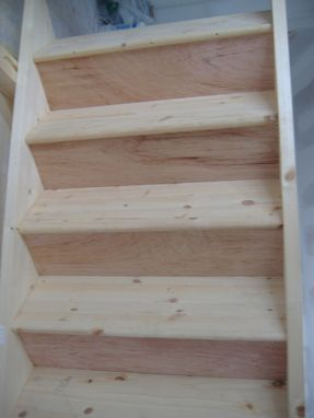 Custom Made Custom Staircase To Attic