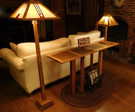 Custom Made Mission Style Floor Lamp