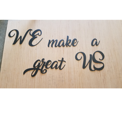 Custom Made Custom Words And Letters 6 Inch Tall