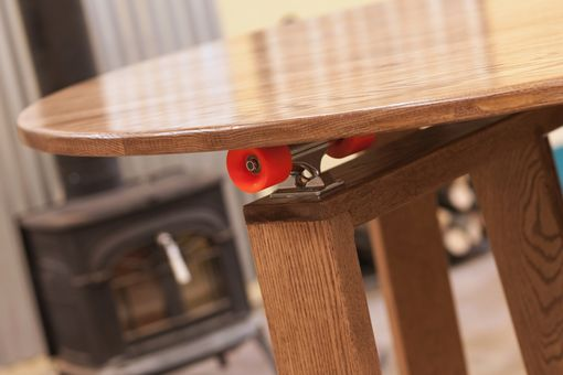 Custom Made 5' Round Cupping Table-Skateboard Lazy Susan Technology
