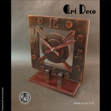 Custom Made Art Deco Style, Handcrafted In The U.S. Lmc-2