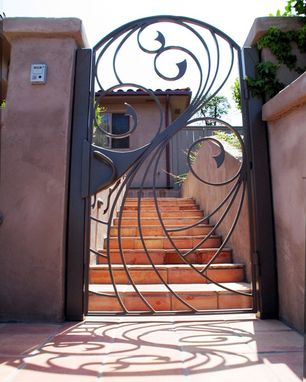 Custom Made Swirling Water Entry Gate