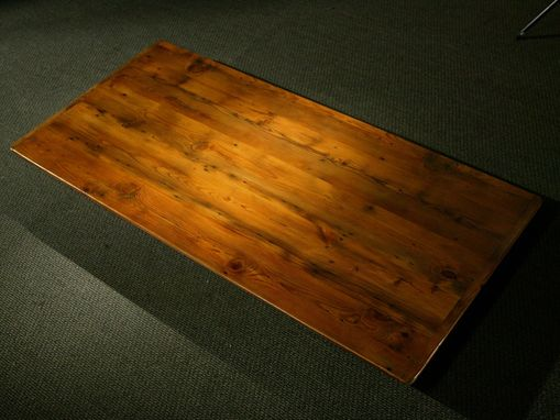 Custom Made 7ft Golden Brown Farm Table