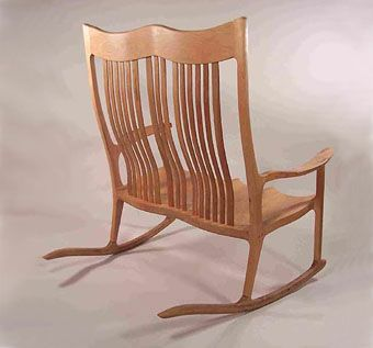 Custom Made Double Rocking Chair