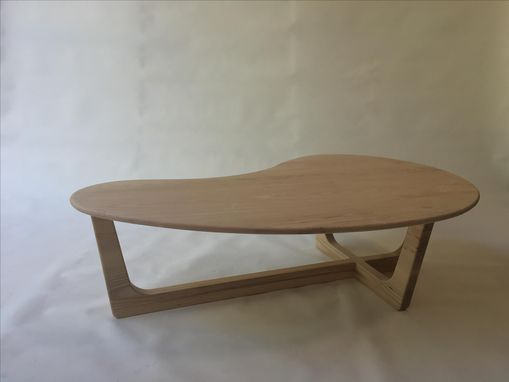 "Custom Made 60"" Ash Pearsall Coffee Table"