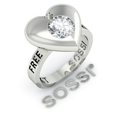 Custom Made Sossi 14k Divorced Women Diamond Ring