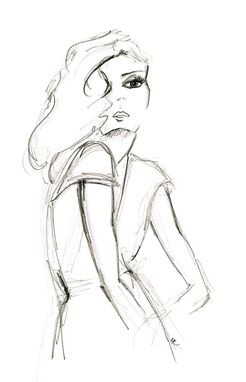 Custom Made Pencil Fashion Illustrations