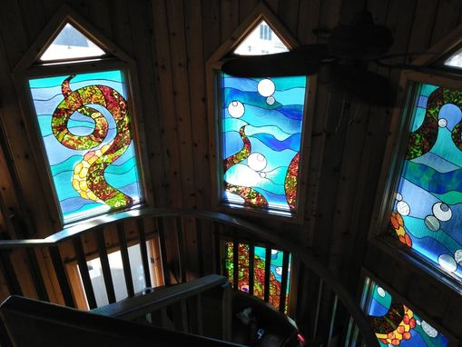 Custom Made W-127 Stained Glass Windows
